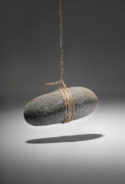 Dangle Hanging Hangs RISK Rock String Dangling Hanging Mid Air No People Studio Shot