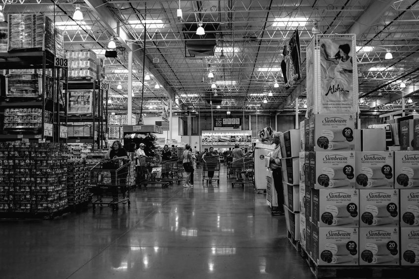 Visual Journal October 2018 Omaha, Nebraska S.ramos October 2018 Visual Journal Photo Diary Always Making Photographs Camera Work EyeEm Best Shots Getty Images Photo Essay FUJIFILM X100S 35mm Camera Long Form Storytelling A Day In The Life Everyday Life Warehouse Costco Monochrome Schwarzweiß B&W Collection Shopping Americans Streetphoto_bw Architecture Indoors  Illuminated Real People Lighting Equipment Built Structure Group Of People Building Flooring Walking Men People Women Lifestyles Group Domestic Room Adult Full Length Crowd Ceiling