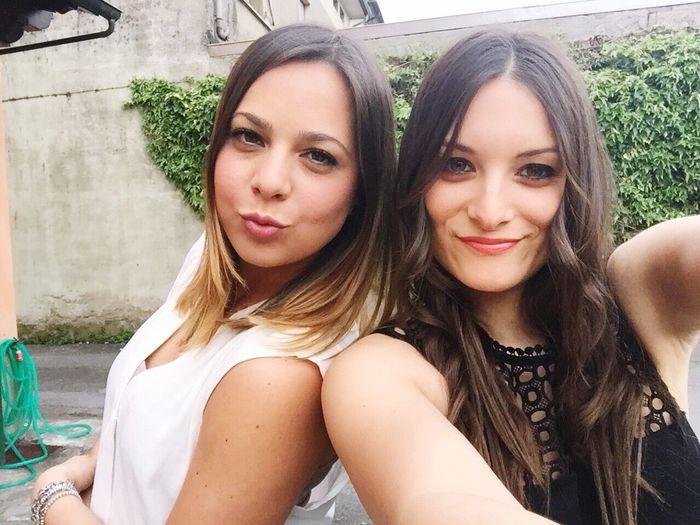 Amica Mia ♥ Bestfriendforever💋💕💙💚💛💜💓💕💖 Italiangirls Hello World Selfie ✌ Enjoying Life Cheese! Me #girl #blond #lovely Friends #dancing #goodtimes #redlips;) #smile #tomuchfun! Kisses❌⭕❌⭕