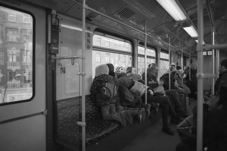 Berlin Rail Transportation Mode Of Transportation Public Transportation Transportation Train Group Of People Train - Vehicle Travel Vehicle Interior Real People Men Large Group Of People Passenger Journey Passenger Train Commuter Crowd Women Window Subway Train Commuter Train Waiting Track The Street Photographer - 2019 EyeEm Awards