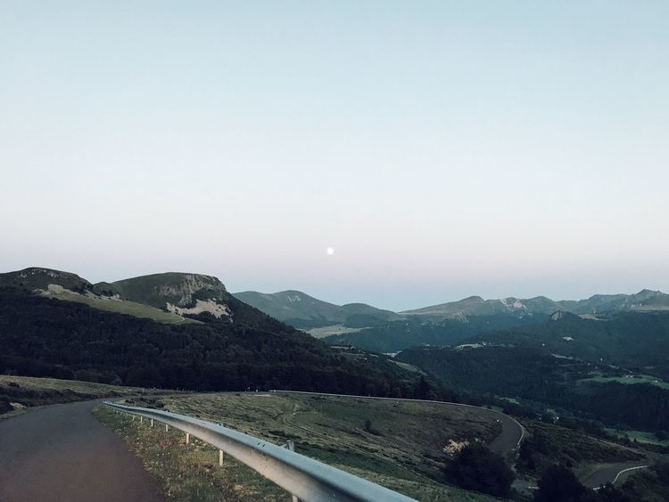 Landscape #Nature #photography Silence Clear Sky Night Mountain Range Outdoors No People Scenics France EyeEmNewHere Mountain Beauty In Nature Lost In The Landscape