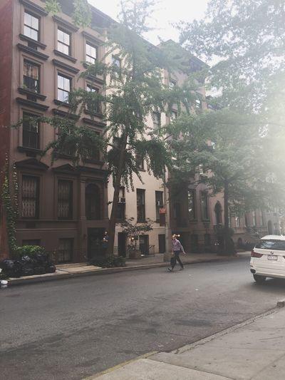 City awakes Morning Morninglight Morning In The City CityAwaking New York New York City Brownstones