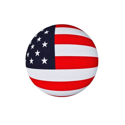 Patriotism Flag Cut Out White Color White Background Red No People Close-up Military Day USA Flag World