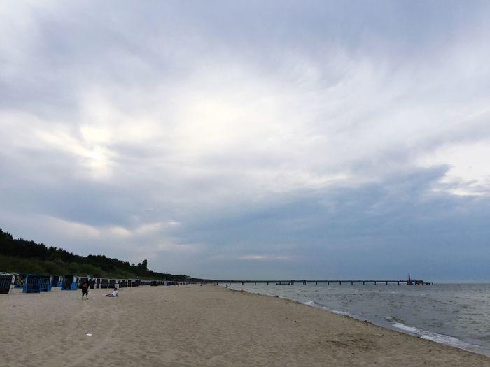 Coast Beach Baltic Sea Ostsee Seebrücke Pier