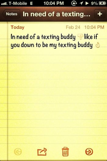 Whos Down To Txt