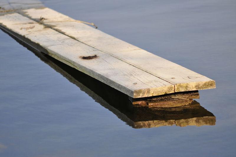Plank in Water
