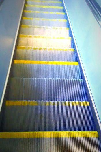 Escalator Bart Station Transportation My Photography My Commute