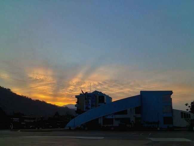 Sunset Architecture Sky