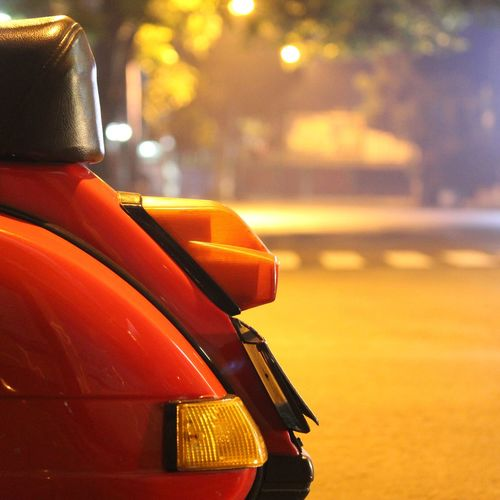 Night ride.. Hanging Out Street Photography Streetlights Vespa Vespaindonesia Vespabandung Vespagram Pxseries Vespapx Red