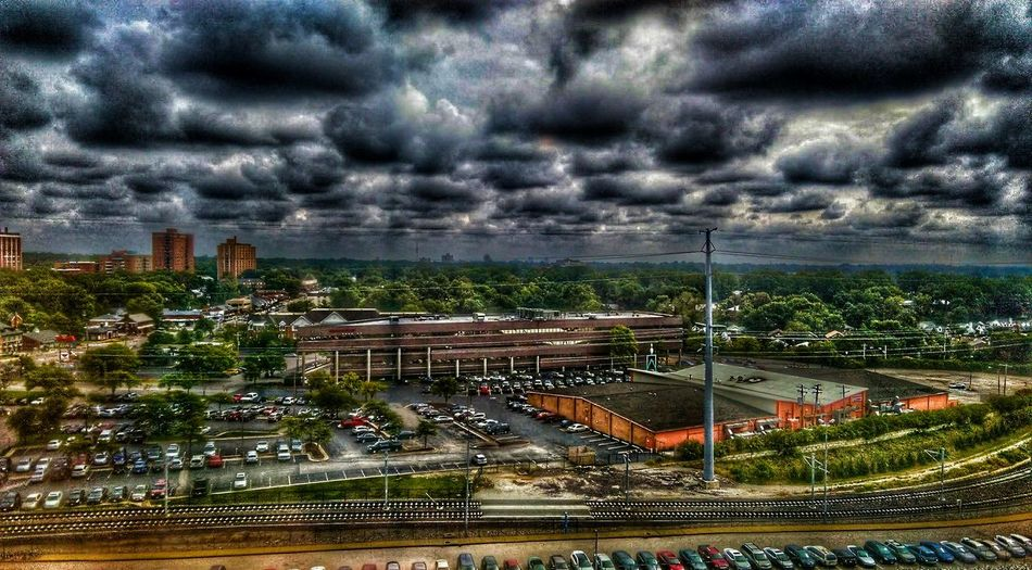 The Impurist Cityscape Show-me State Of Mind Mother Vs Nature Buildings And Sky Cloudscape Stormembracing Electr⚡️cal L❤️ve Birds Eye View Wrong Side Of The Tracks