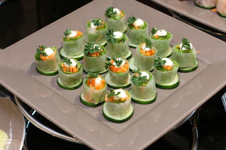 deep-dish sushi