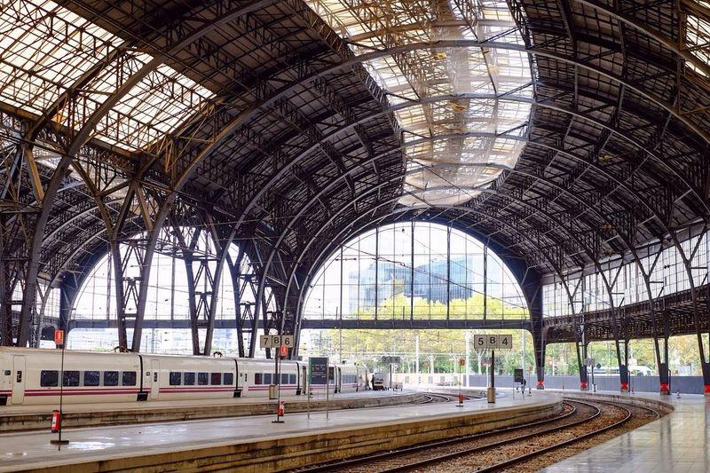 Train Station Station Modern Architecture Architecture Estación De Tren Estació De França Barcelona España SPAIN