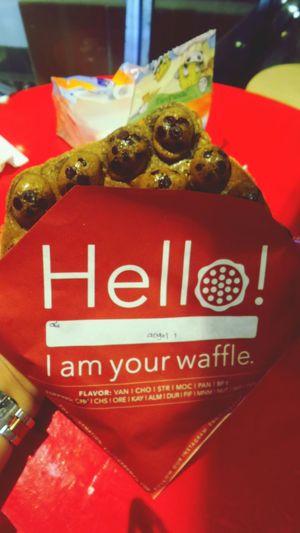 Nyummy Waffle 😋