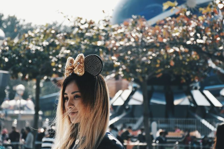 //Be my Mickey// Hk Hong Kong Girl Woman Disney Minnie Mouse Disneyland Tommorowland Smile Nikon D5500 EyeEmNewHere Women Around The World