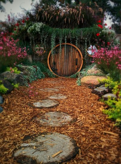 Hobbit House Magical Places Beautiful Garden My Work Make It Yourself