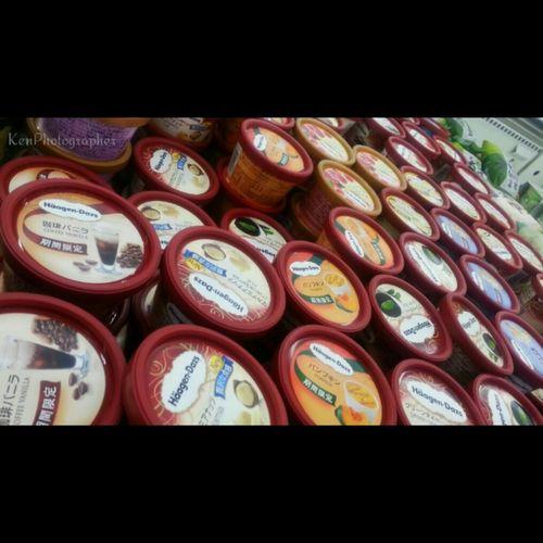 Taking Photos Enjoying Life Yummy Yummy Yummy Ice Cream Haagen Dazs