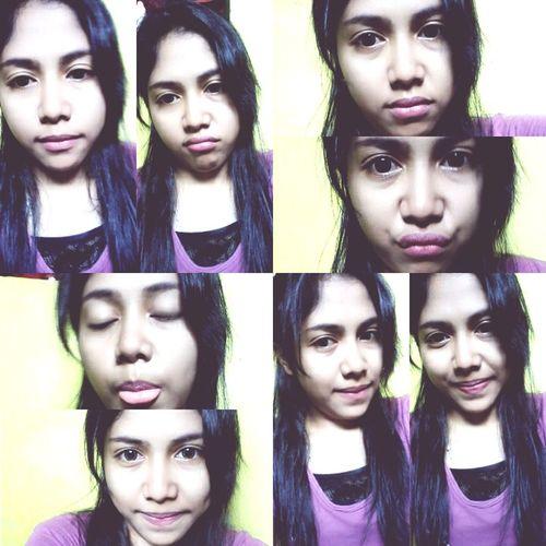 selfie again.. when i'm feel bored.. ✌??