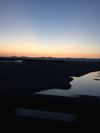 波乗りの帰り道 シルエットが綺麗だった😊✨☀️✨ Relaxing Fun Times 癒し 太陽パワー 夕焼け 空 Sunset 梅雨 梅雨らしくない 波乗り 今空 心地良い