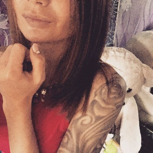 Tattoo Girl Beautiful Girl Selfie Selfierussia Home Flowers