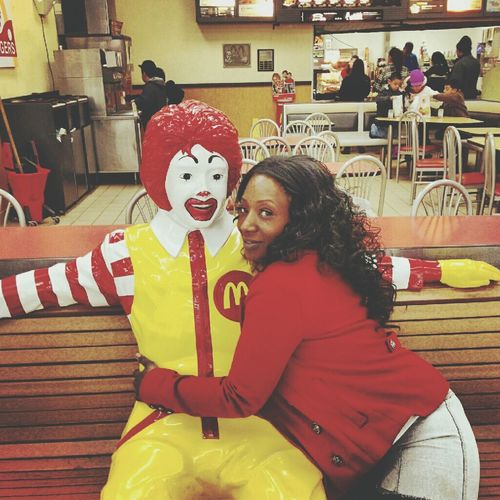 On the a Date with Ronald .... and I'm loving it haha