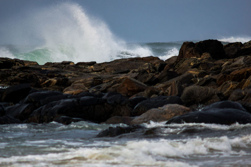 Beauty In Nature Day Motion Nature Outdoors Outer Hebrides Power In Nature Rocky Coastline Rough Rough Sea Scenics Scotland Sea Shore Sky Surf Surface Level Water Wave Wild