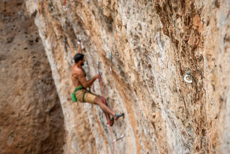 Adventure Catalonia Climbing Extreme Sports Outdoors Pantà De Camarasa RISK Rock Climbing Sport