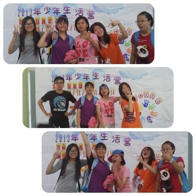 Crazy with them! Throwback