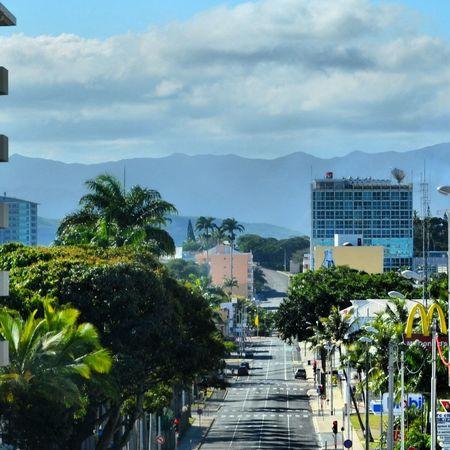 Avenue Town Center Center City Point Of View Centre Ville Noumea Centreville New Caledonia ..