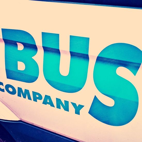 A photo of the word bus, taken whilst looking out of a window of a bus and whilst sat on a bus... Think that's it for the bus references! Oh no.. wait! One more: Whilst waiting at a bus stop!! Phew.. Almost missed that one...
