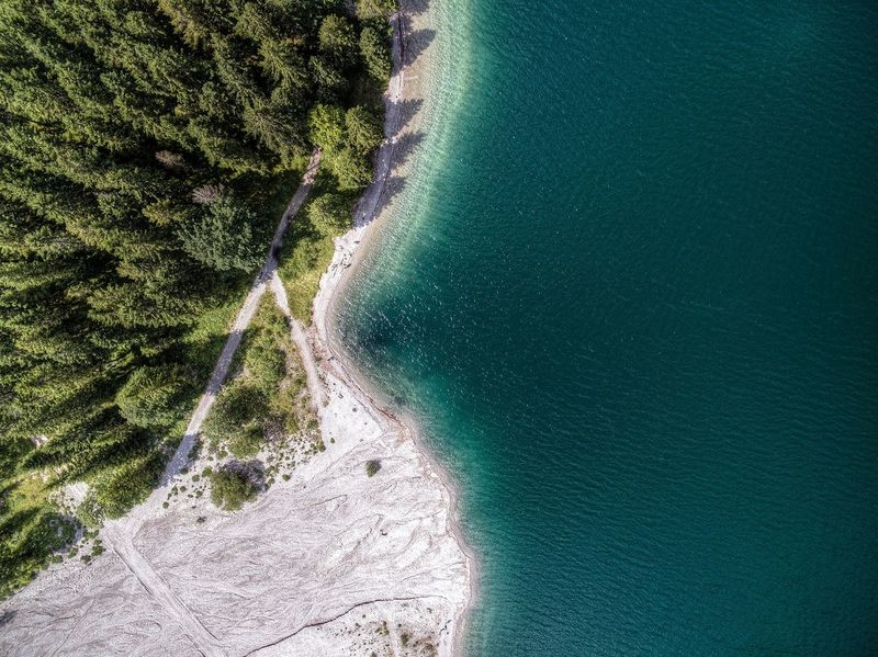 Green Color Tree No People Water Nature Freshness Outdoors Dronephotography Drone  DJI Phantom 3 Professional Dji Beauty In Nature Nature Lake Lakeview Plansee Fresh On Market 2016 The Great Outdoors - 2018 EyeEm Awards