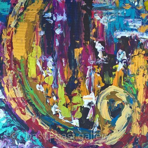 Not 9. Acrylic Acrylicpanel Painting