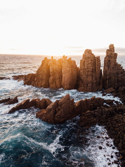 Pinnacles (IG @noeldxng) Beauty In Nature Sea Water Sky Rock Rock - Object Motion Nature Scenics - Nature Wave Beach Horizon Over Water Power In Nature Outdoors Tranquility No People Australia Victoria A New Beginning Capture Tomorrow