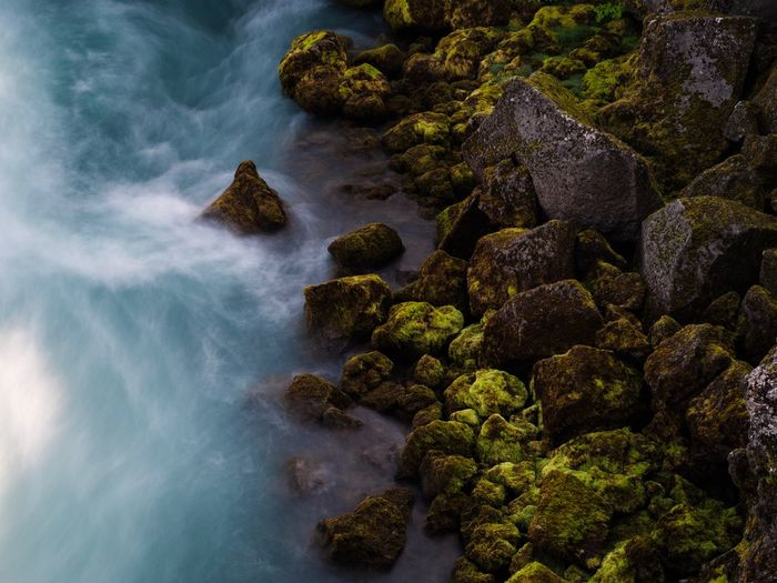 Smooth wave Fast Movement Falls River Wet Rocks Smooth Long Exposure Rock - Object Sea Nature Beauty In Nature Water No People Motion Wave Scenics Outdoors Day