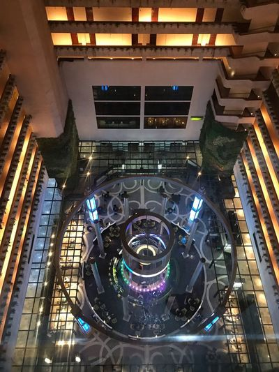 Technology Indoors  Architecture High Angle View Night No People Built Structure Fuel And Power Generation Connection Illuminated Machinery Metal Arts Culture And Entertainment Computer Transportation Modern Communication Motor Vehicle City