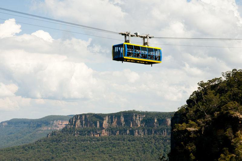 Blue Mountains - Australia Australia Blue Mountains Cable Car Katoomba Mountain