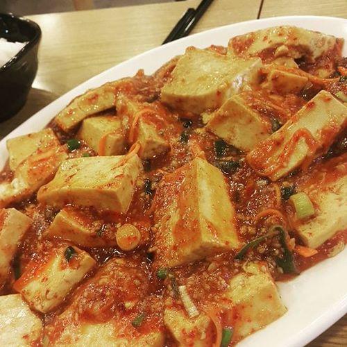 먹스타그램 마파두부 먹방