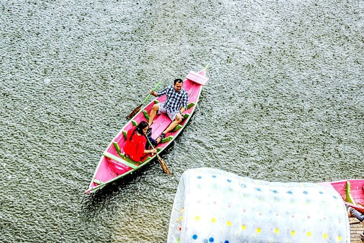 Feel The Journey Water Trapped Raining Boat Trip Boating Trip Photo Panic Lake Lakescape Snapshots Of Life