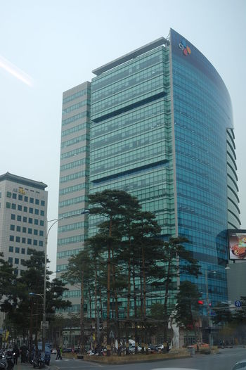 Office building in Seoul Building Exterior Architecture City Office Building Exterior Building Modern Glass - Material Office Skyscraper Tall - High Outdoors