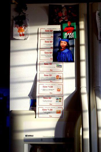 Make it so. Indoors  Illuminated Sunlight Sunrise Refrigerator Refrigerator Magnets Coupons