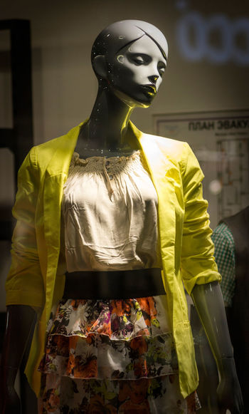 Casual Clothing Close-up Fashion Focus On Foreground Lifestyles Mannequin