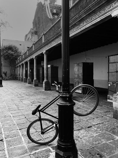 Bike, Bicicleta, bicicleta atrapada, blanco y negro, Black and white, traped