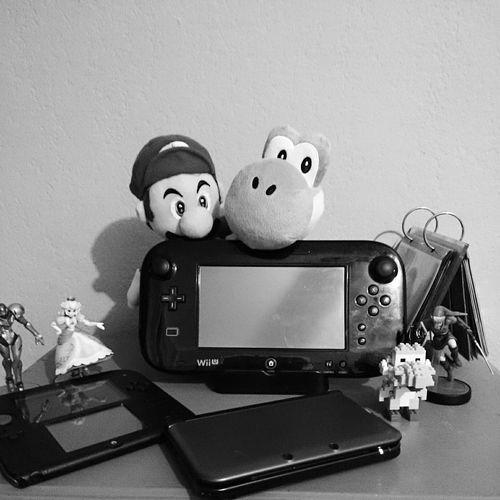Amiibo WiiU 3DS Link Princesspeach Samus Gamepad Mariobros Mario Yoshi