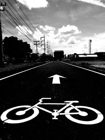 Bike lane First Eyeem Photo