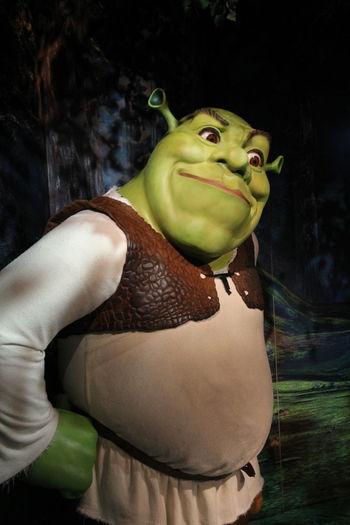 Shrek Shrek!!!!  Madame Tussauds Shrekforever