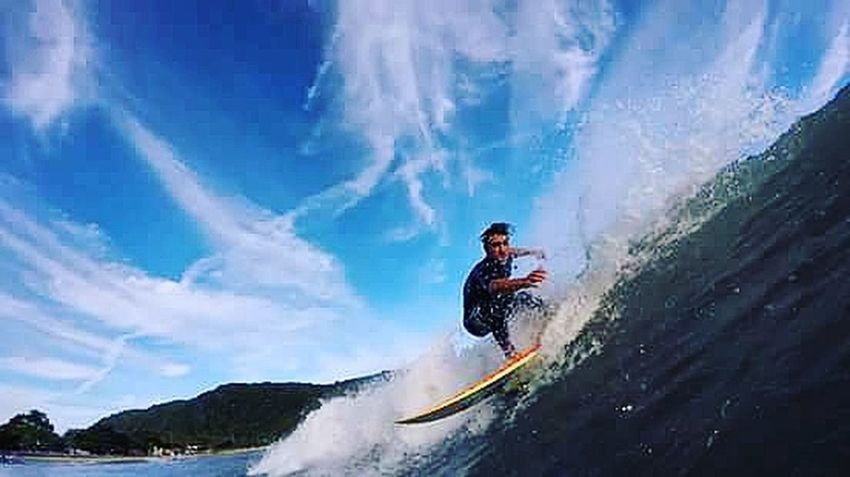Surf's Up ILoveWater Guarujá Goprohero+lcd Mahalo Gopro 18-030 Fotografiaaquatica Blue Wave