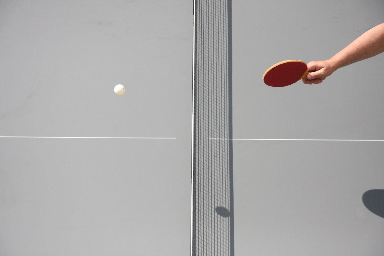 Arm Playing Ping Pong