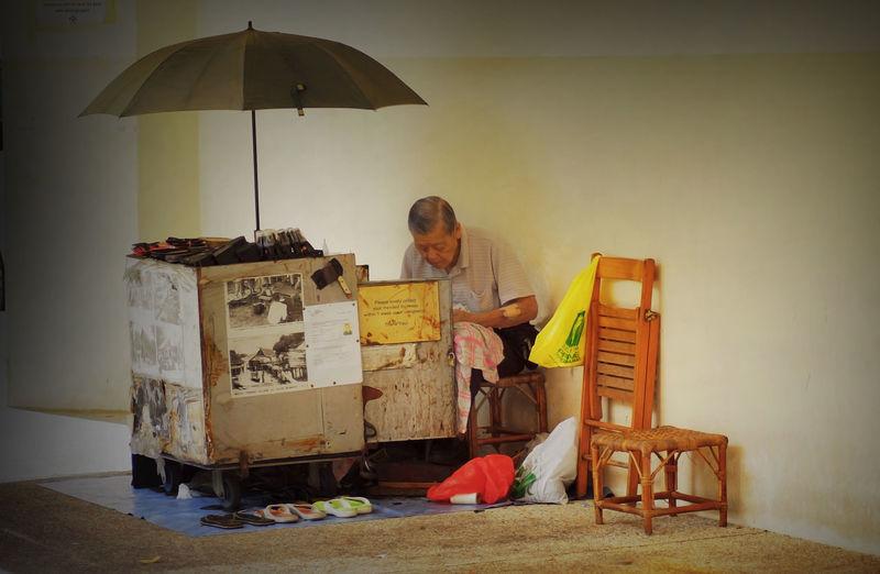 Singapore Life Working Hard Katong Kopitiam Working Father Inspire Me