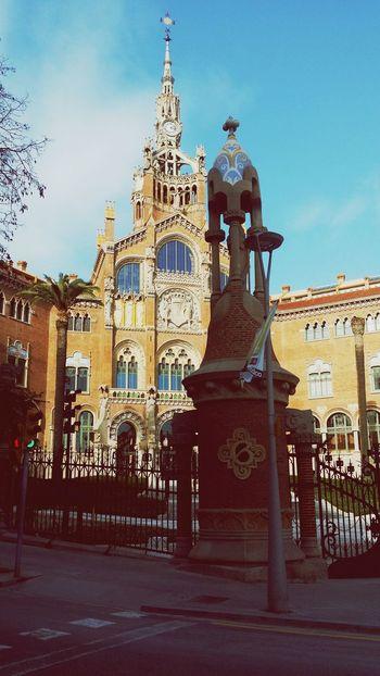 Bonito dia en barcelona