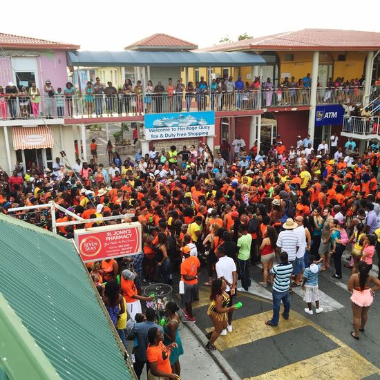 Antigua Street Photography Crowd Streetparty Carnival Bright Proud Loud Incredible Wonder