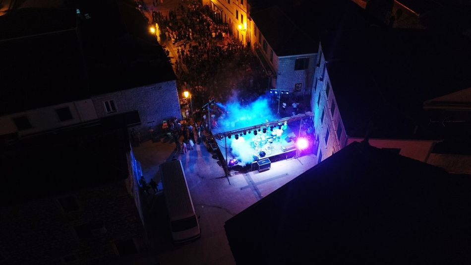 Illuminated Popular Music Concert Nightlife Arts Culture And Entertainment Christmas Decoration Performance Celebration Architecture EyeEmNewHere HUAWEI Photo Award: After Dark